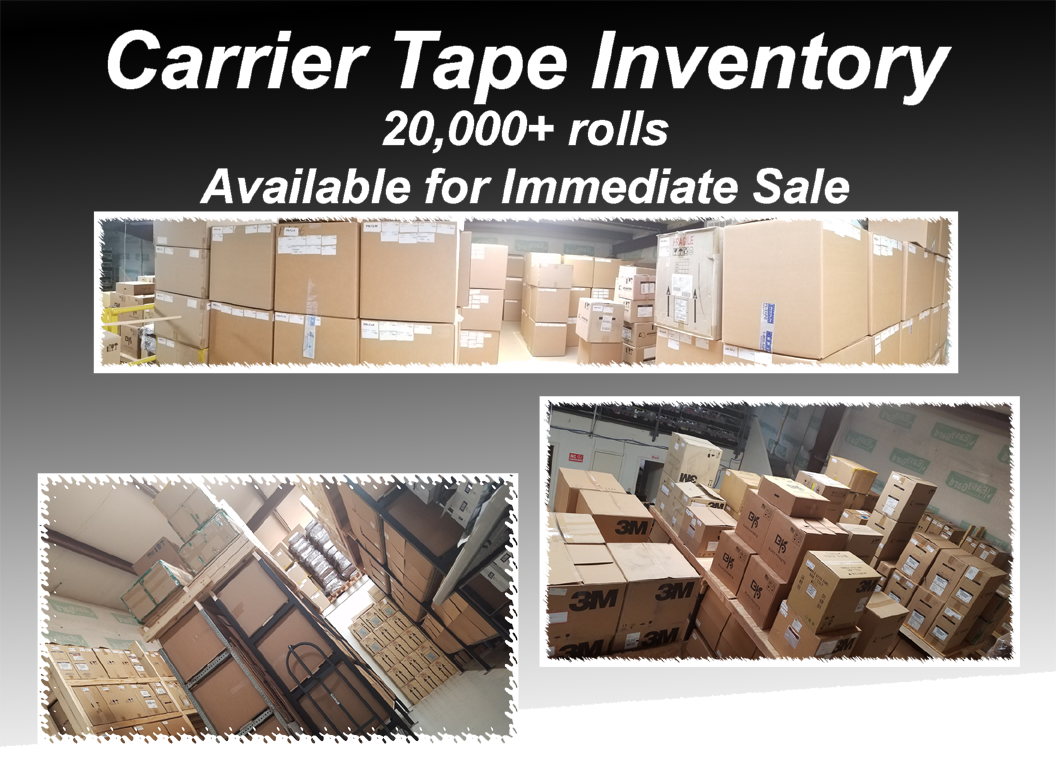 Carrier Tape Inventory